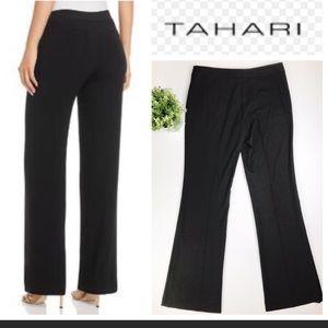 Tahari black career stretch pants sz 12 large/XL